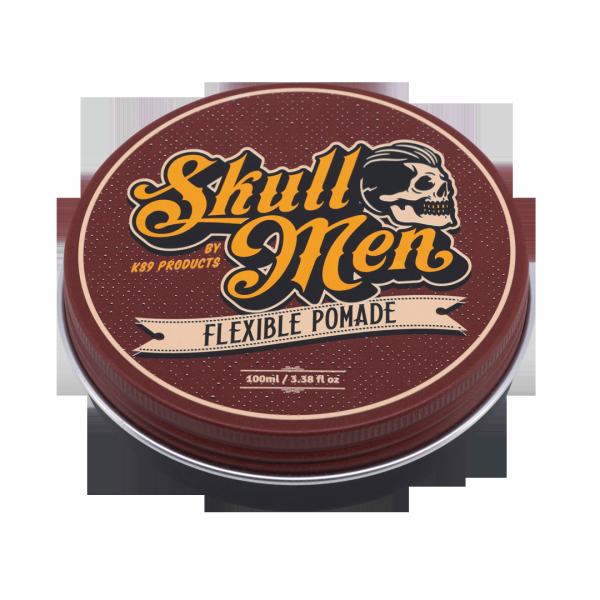 Skull Men - Elastyczna pomada do stylizacji włosów