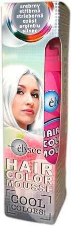 Elysee koloryzująca pianka do włosów 75 ml. Kolor srebrny. Nr 63.