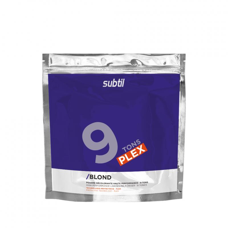 SUBTIL Blond Puder dekoloryzujący PLEX 9 tonów 500g