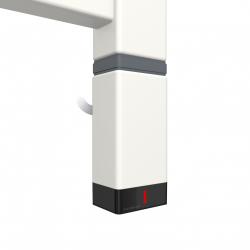 Grzałka One P30x40 800W Kolor Biały z Kablem Spiralnym