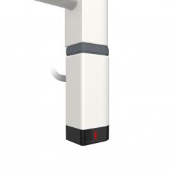 Grzałka One D30x40 Prawy 400W Kolor Biały z Kablem Spiralnym