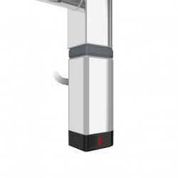 Grzałka One D30x40 Prawy 600W Kolor Chrom z Kablem Spiralnym
