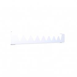 Wieszak Terma Happy Shark do Grzejnika Vivo 400 kolor Biały RAL 9016