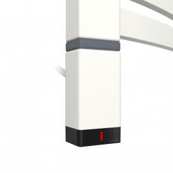 Grzałka One T36x40 Lewy 300W Kolor Biały z Kablem Spiralnym