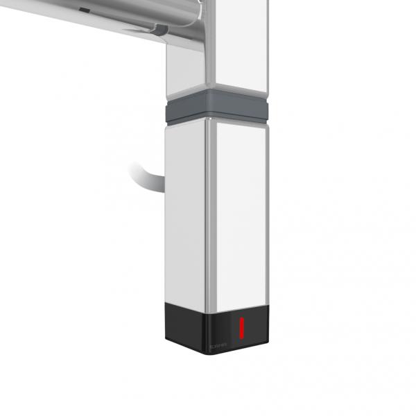 Grzałka One K30x30 600W Kolor Chrom z Kablem Spiralnym