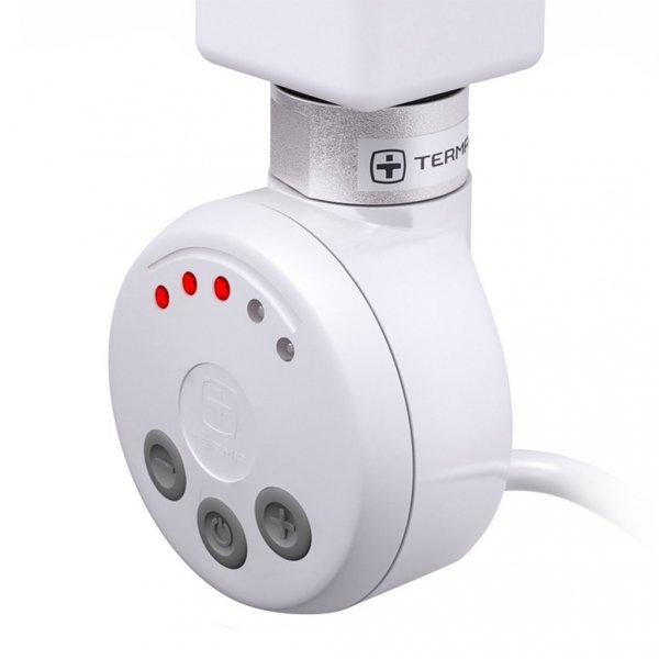 Grzałka MEG 600W Kolor Biały z Kablem Spiralnym