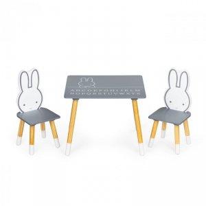 Stół stolik +2 krzesła meble dla dzieci zestaw Ecotoys