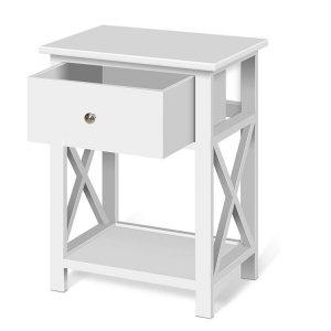 Szafka nocna stolik do sypialni szuflada półka