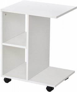 Stolik kawowy szafka nocna na kółkach organizer