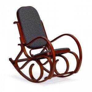 Fotel bujany na płozach bujak na biegunach ModernHome