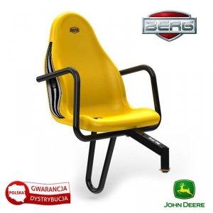 BERG Fotel pasażera John Deere Żółty do 30 kg