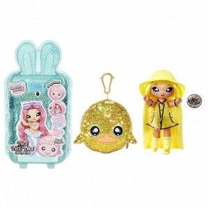 Na! Na! Na! Surprise Sparkle - Lalka Daria Duckie i Kaczka w balonie z konfetti Seria Cekinowa Pom