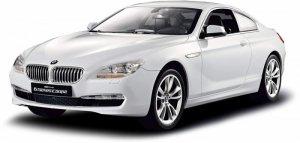 BMW 6 RASTAR 1:14 (zasilanie na baterie AA) - Biały