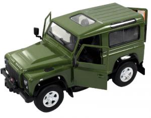 Land Rover Defender 1:14 RTR (zasilanie na baterie AA) - Zielony