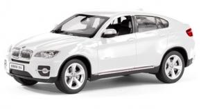 BMW X6 Rastar 1:14 RTR (zasilanie na baterie AA) - Biały