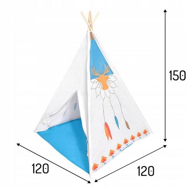 Namiot namiocik tipi wigwam domek dla dzieci Ecotoys