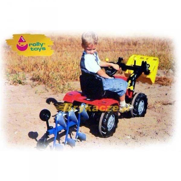 Rolly Toys Pług Wieloskibowy Obracany NIEMEYER