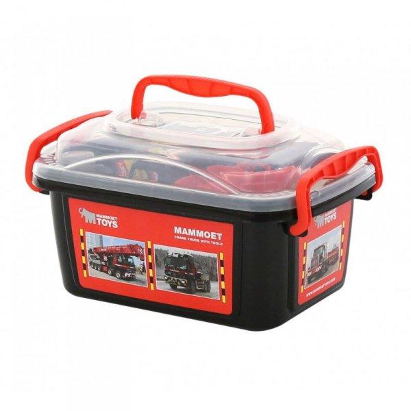 MAMMOET Zestaw narzędzi w walizce + auto 37 elementów