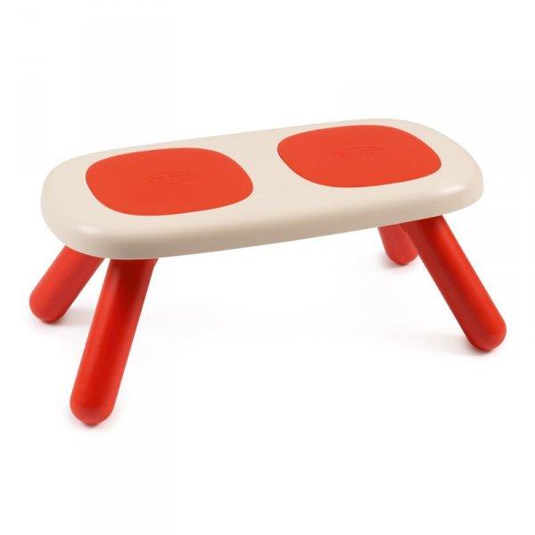 Ławka dla dzieci Smoby w kolorze czerwonym