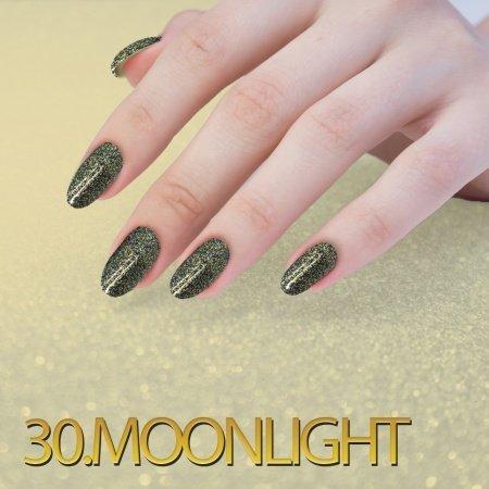 30. Sequin Quartz Effect - Moonlight