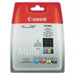 Canon oryginalny wkład atramentowy / tusz 6509B009. CLI551. CMYK. Canon PIXMA iP7250. MG5450. MG6350 6509B009