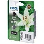 Epson oryginalny wkład atramentowy / tusz C13T059840. matte black. 13ml. Epson Stylus Photo R2400 C13T05984010