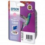 Epson oryginalny wkład atramentowy / tusz C13T08064011. light magenta. Epson Stylus Photo PX700W. 800FW. R265. 285. 360. RX560 C13T08064011