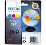 Epson oryginalny wkład atramentowy / tusz T267 CMY 6.7ml  do WF-100W          200 str. C13T26704010