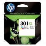 HP oryginalny wkład atramentowy / tusz CH564EE. No.301XL. color. 330s. HP HP Deskjet 1000. 1050. 2050. 3000. 3050 CH564EE