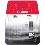 Canon oryginalny wkład atramentowy / tusz PG40. black. 490s. 16ml. 0615B042. 0615B006. blistr z ochroną. Canon iP1600. 2200. MP150. 170. 450 0615B042