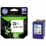 HP oryginalny wkład atramentowy / tusz C9352CE. No.22XL. color. 415s. 11ml. HP PSC-1410. DeskJet F380. D2300. OJ-4300. 5600 C9352CE