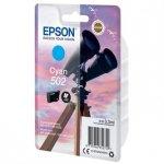 Epson oryginalny ink C13T02V24010, 502, T02V240, cyan, 165s, 3.3ml, Epson XP-5100, XP-5105, WF-2880dwf, WF2865dwf C13T02V24010