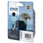 Epson oryginalny wkład atramentowy / tusz C13T007401. black. 540s. 16ml. Epson Stylus Photo 870. 875D. 790. 890. 895. 1270. 1290 C13T00740110
