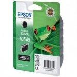 Epson oryginalny wkład atramentowy / tusz C13T054840. matte black. 550s. 13ml. Epson Stylus Photo R800. R1800 C13T05484010