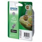 Epson oryginalny wkład atramentowy / tusz C13T034740. light black. 440s. 17ml. Epson Stylus Photo 2100