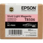 Singlepack Photo Vivid Light Magenta cartridge. T850600 C13T850600