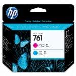HP oryginalna głowica drukująca 761 CH646A głowica drukująca Designjet: purpurowy/błękitny CH646A