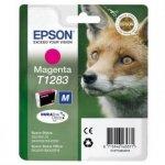 Epson oryginalny wkład atramentowy / tusz C13T12834011. T1283. magenta. 3.5ml. Epson Stylus S22. SX125. 420W. 425W. Stylus Office BX305 C13T12834011