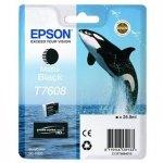Epson oryginalny wkład atramentowy / tusz C13T76084010. T7608. matte black. 25.9ml. 1szt. Epson SureColor SC-P600 C13T76084010