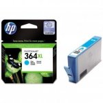 HP oryginalny wkład atramentowy / tusz CB323EE. No.364XL. cyan. 750s. HP Photosmart B8550. C5380. D5460 CB323EE