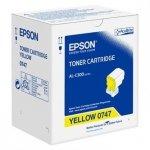 Epson oryginalny toner C13S050747. yellow. 8800s. Epson WorkForce AL-C300N C13S050747