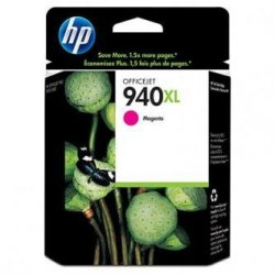 HP oryginalny wkład atramentowy / tusz C4908AE. No.940XL. magenta. HP Officejet Pro 8000. Pro 8500 C4908AE