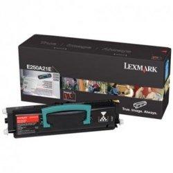 Lexmark oryginalny toner E250A21E, black, 3500s, Lexmark E250, E35x