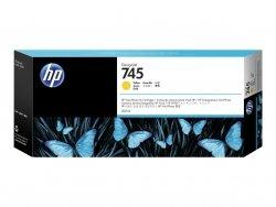 HP Wkład atramentowy 745 300-ml Yellow F9K02A