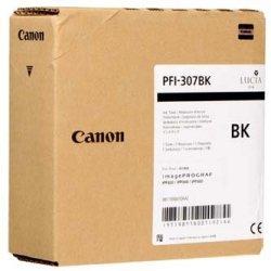 Canon oryginalny wkład atramentowy / tusz PFI307BK. black. 330ml. 9811B001. ploter iPF-830. 840. 850