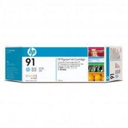 HP oryginalny wkład atramentowy / tusz C9470A. No.91. light cyan. 775ml. HP Designjet Z6100 C9470A