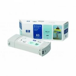 HP oryginalny wkład atramentowy / tusz C4944A. No.83. light cyan. 680ml. HP DesignJet 5000. PS. UV. 5500. PS. UV C4944A