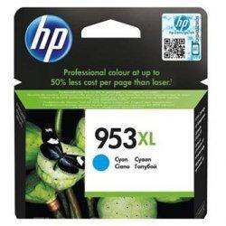 HP oryginalny wkład atramentowy / tusz F6U16AE. No.953XL. cyan. 1600s. 20ml. high capacity. HP OfficeJet Pro 8218.8710.8720.8730.8740 F6U16AE#BGY