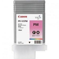 Canon oryginalny wkład atramentowy / tusz PFI101 PM. photo magenta. 130ml. 0888B001. ploter iPF-5000 0888B001
