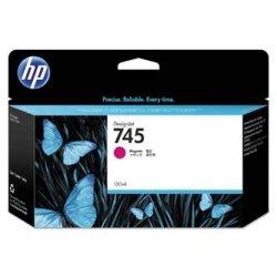 HP oryginalny wkład atramentowy / tusz F9J95A, No. 745, magenta, 130ml, HP DesignJet HD Pro MFP, DesignJet Z2600, Z5600 F9J95A